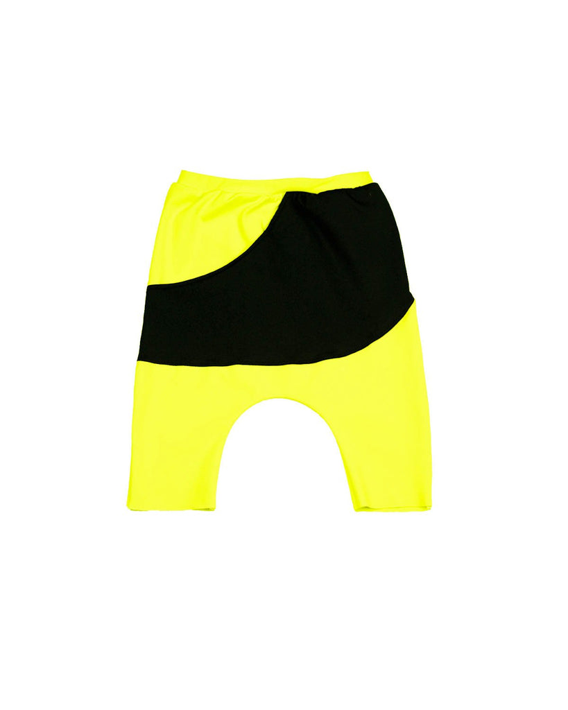 Modern Harem Shorts - Neon Yellow
