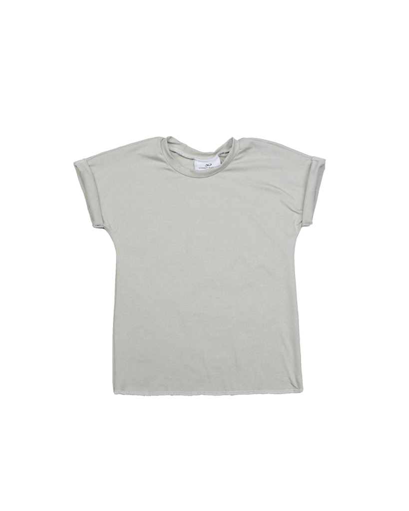 Roll Tee - Heathered Oatmeal (Ready to Ship)