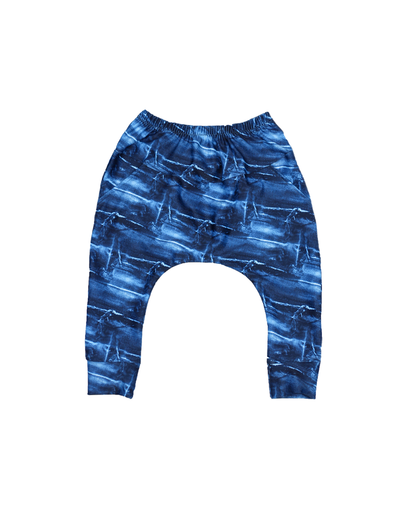 Pixel Pants - Funky Denim (Ready to Ship)