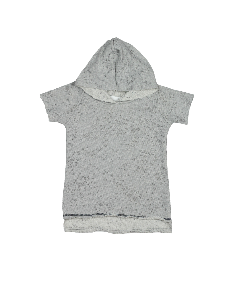 Raw Hoodie - Lunar Grey (Ready to Ship FINAL FEW 0-3mo)