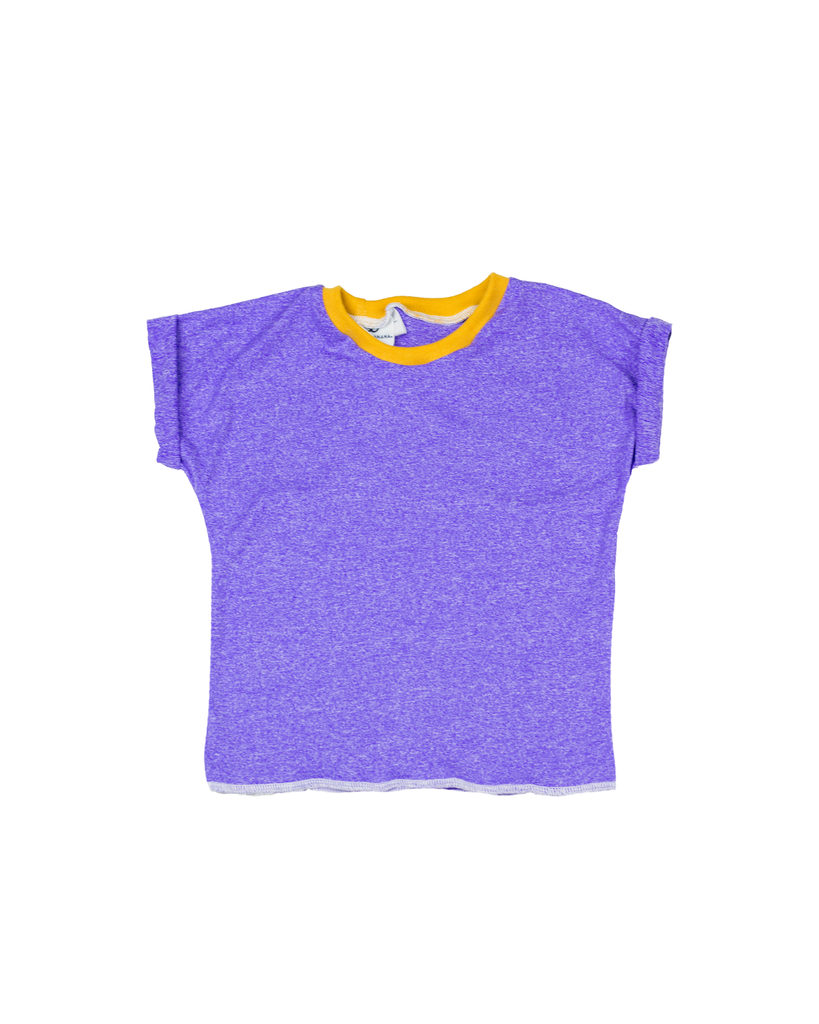 Roll Tee - Lavender Heather (Ready to Ship)