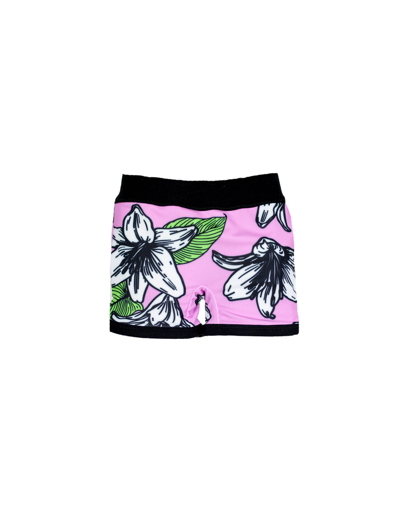 Swim Euro Shorts - Hibiscus