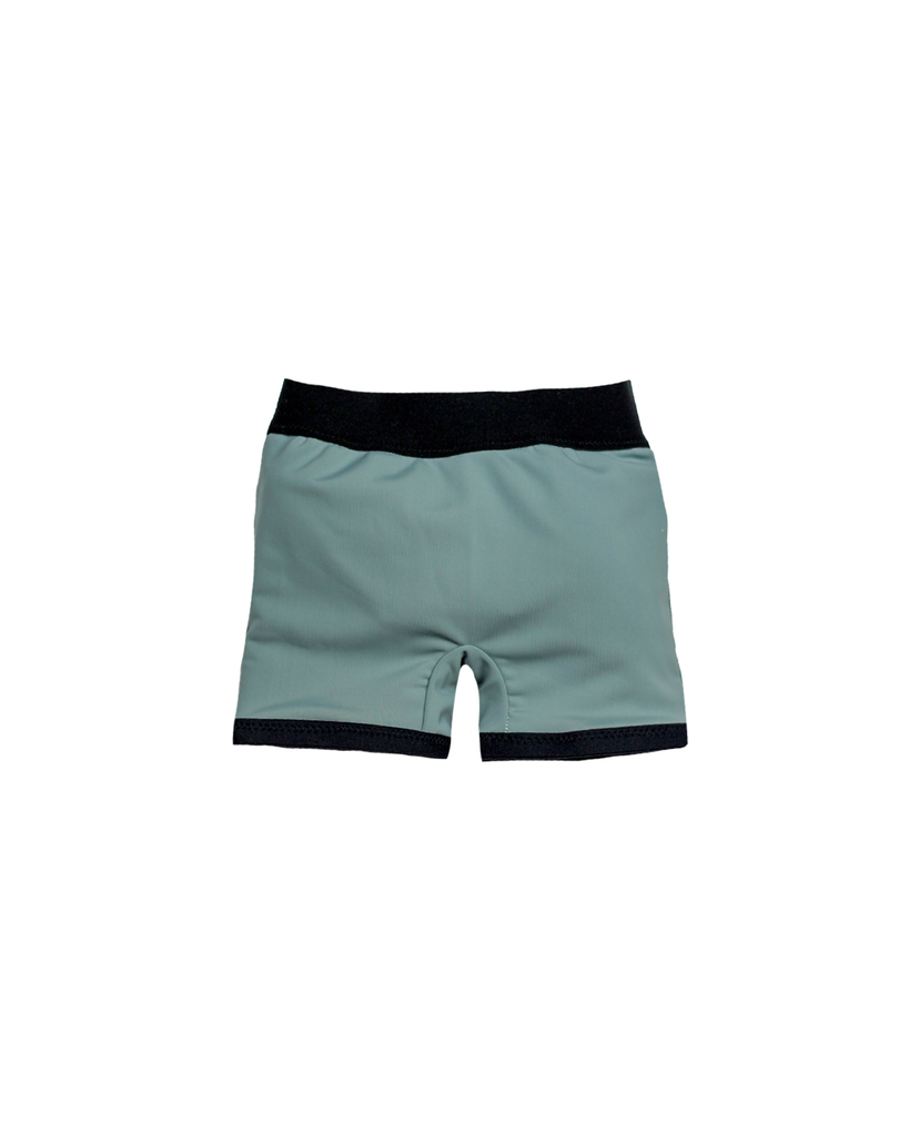 Swim Euro Shorts - Shark Bite (Ready to Ship)