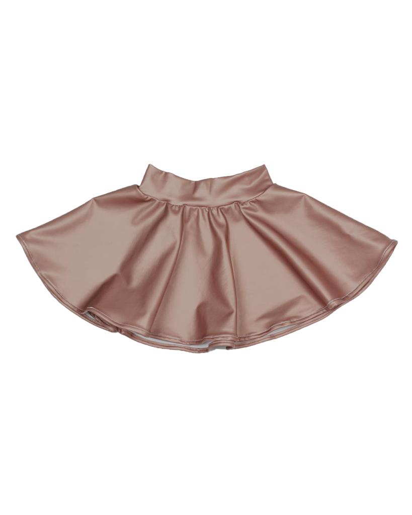 Swing Skirt - Sand leather (Ready to Ship)