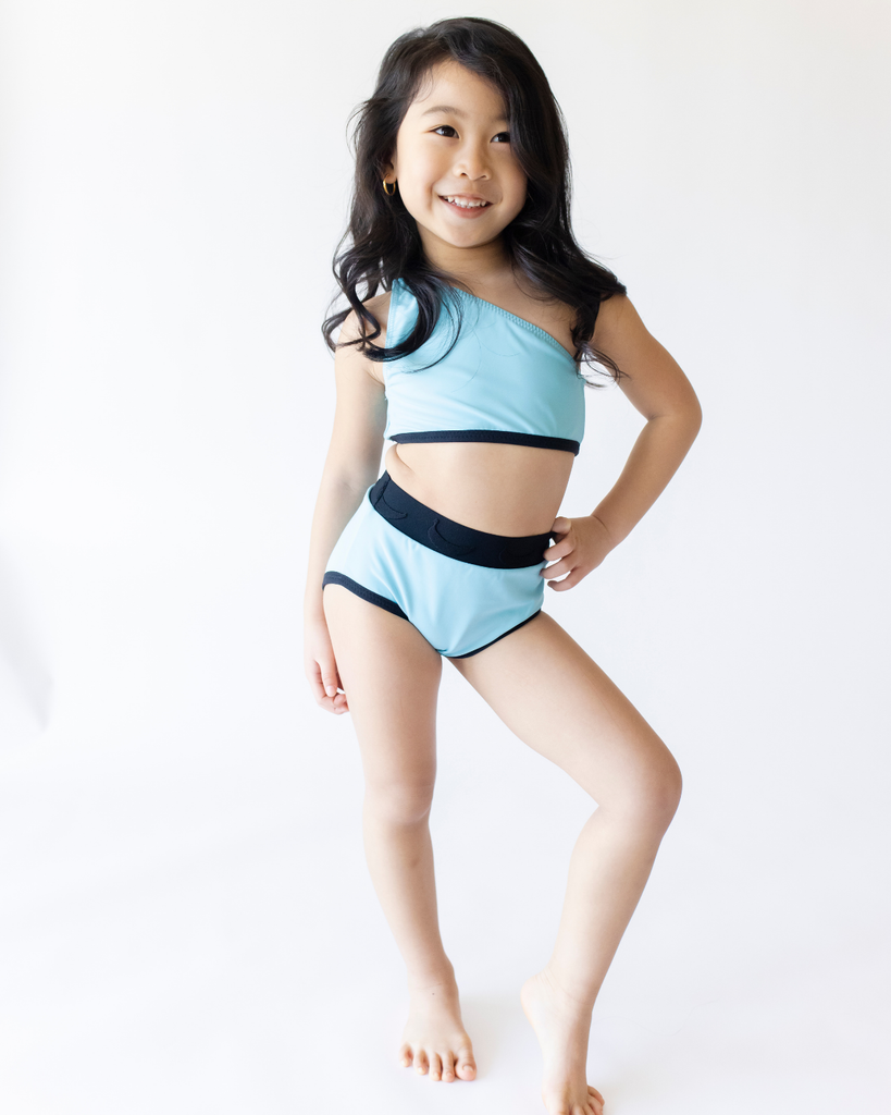 Swim Bottoms - Rockin' Blue (Ready to Ship)