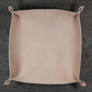 Large Leather Valet Tray
