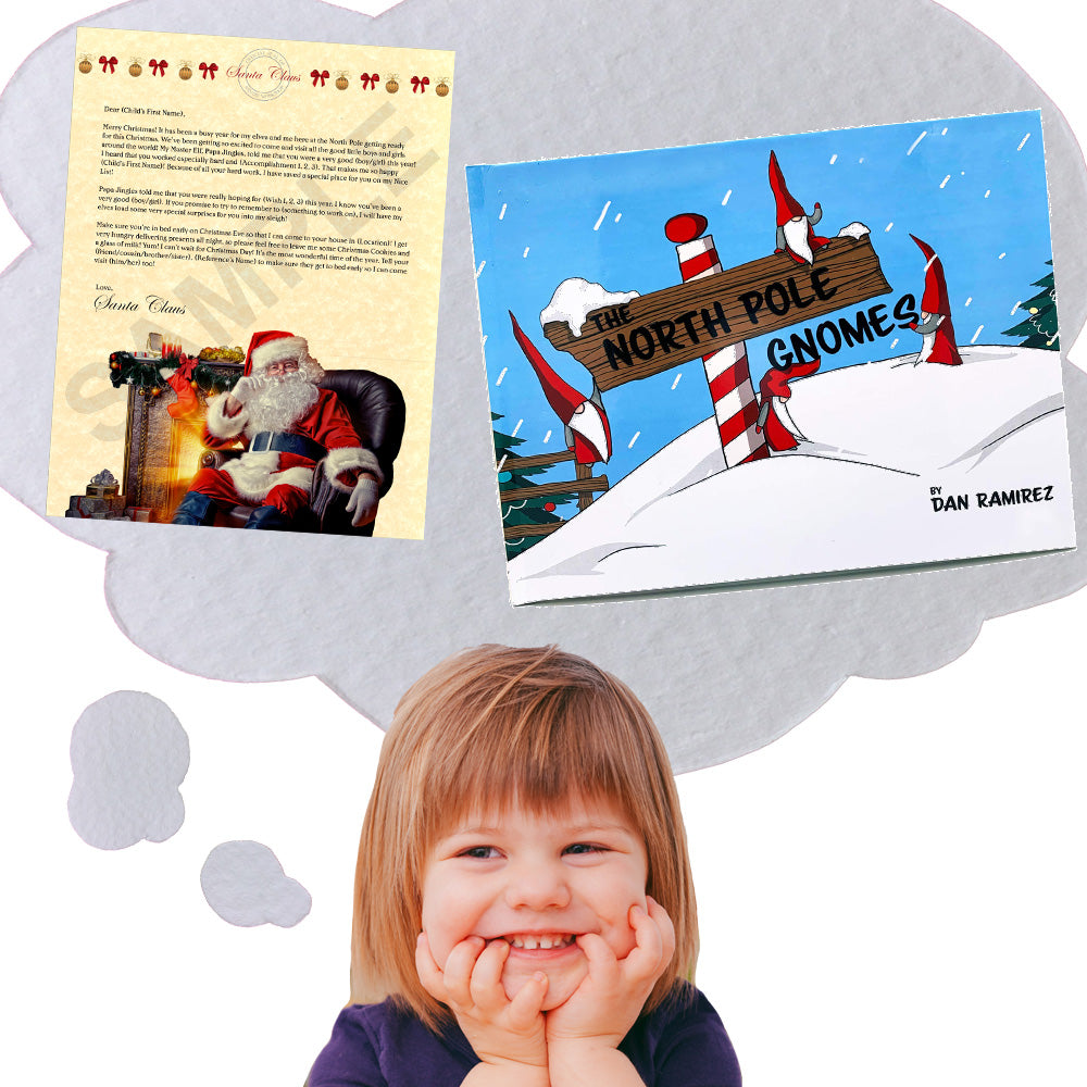 Personalized Letter From Santa & The North Pole Gnomes Children's Book