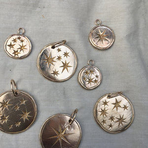S E R E N  S T A R  Constellation Large Coin Necklace
