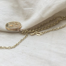 Load image into Gallery viewer, S E R E N  S T A R  Constellation Small Coin Necklace 9ct Gold