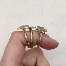 Load image into Gallery viewer, A S T R A Star Ring Bronze