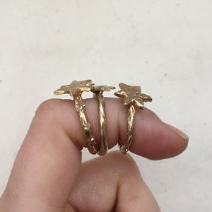 A S T R A Star Ring Bronze