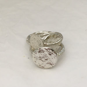 S E L E N E  Moon Ring Sterling Silver