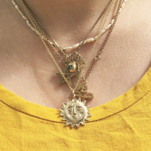 Load image into Gallery viewer, A R O R A  Sun Face Necklace
