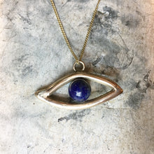 Load image into Gallery viewer, HORUS All Seeing Eye Necklace Solid Bronze