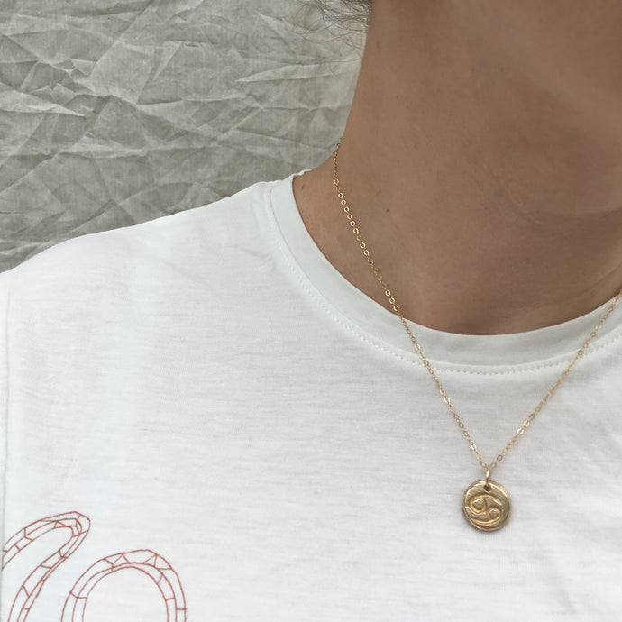 C A N C E R  Reversible Necklace