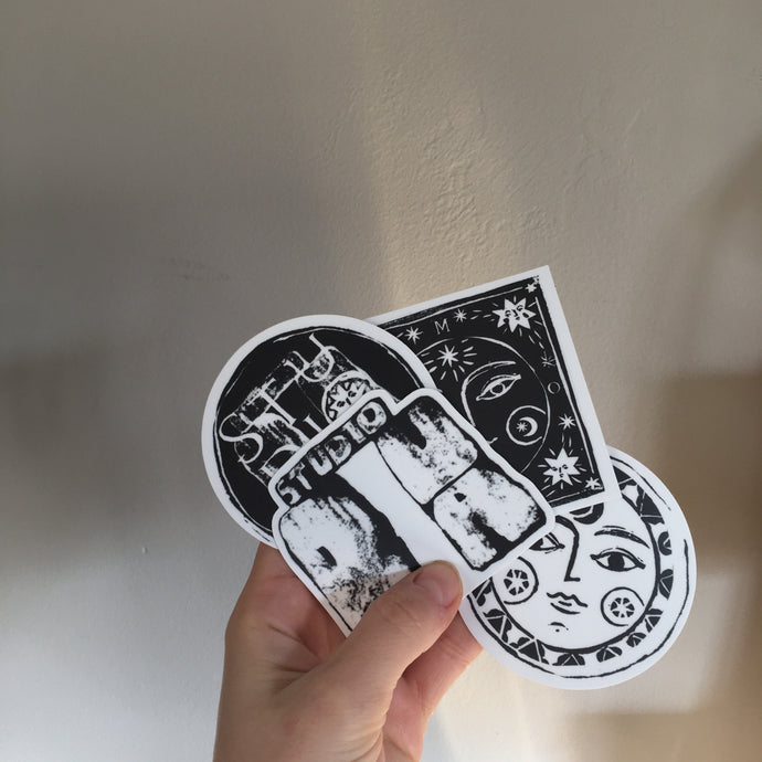 S T U D I O  R U A Sticker Pack