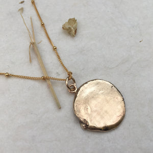 M A G I C  Coin Necklace Bronze