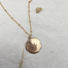 Load image into Gallery viewer, M A G I C  Coin Necklace in Bonze