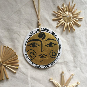 SUN & MOON Ceramic Hanging Decorations