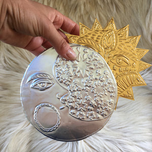 MOON Metal Foil Hanging Decoration