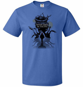 7 Days In The Pit Unisex T-Shirt - Royal / S - T-Shirt