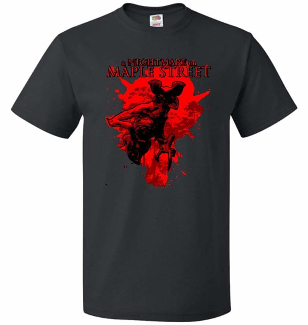 A Nightmare On Maple Street Unisex T-Shirt - Black / S - T-Shirt