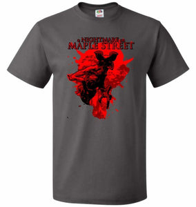 A Nightmare On Maple Street Unisex T-Shirt - Charcoal Grey / S - T-Shirt