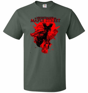 A Nightmare On Maple Street Unisex T-Shirt - Forest Green / S - T-Shirt