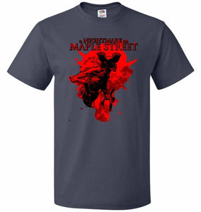 A Nightmare On Maple Street Unisex T-Shirt - J Navy / S - T-Shirt