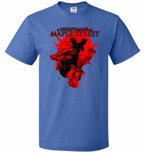 A Nightmare On Maple Street Unisex T-Shirt - Royal / S - T-Shirt