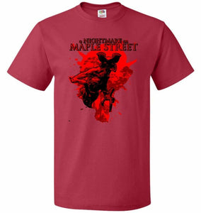 A Nightmare On Maple Street Unisex T-Shirt - True Red / S - T-Shirt
