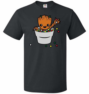 A Pot Full Of Candies Unisex T-Shirt - Black / S - T-Shirt