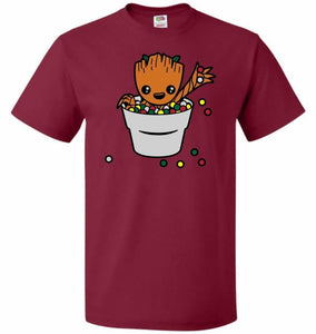 A Pot Full Of Candies Unisex T-Shirt - Cardinal / S - T-Shirt