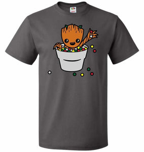 A Pot Full Of Candies Unisex T-Shirt - Charcoal Grey / S - T-Shirt