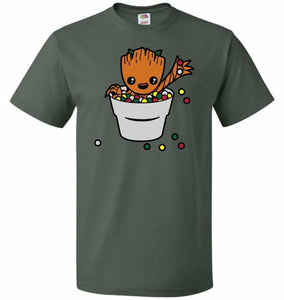 A Pot Full Of Candies Unisex T-Shirt - Forest Green / S - T-Shirt