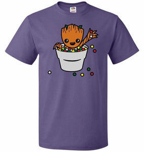 A Pot Full Of Candies Unisex T-Shirt - Purple / S - T-Shirt