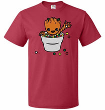 Load image into Gallery viewer, A Pot Full Of Candies Unisex T-Shirt - True Red / S - T-Shirt