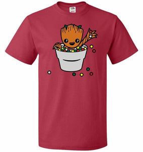 A Pot Full Of Candies Unisex T-Shirt - True Red / S - T-Shirt