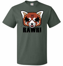 Load image into Gallery viewer, Aggressive Growl Unisex T-Shirt - Forest Green / S - T-Shirt