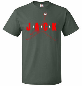 Air Jack Unisex T-Shirt - Forest Green / S - T-Shirt