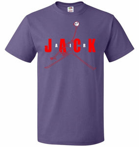 Air Jack Unisex T-Shirt - Purple / S - T-Shirt