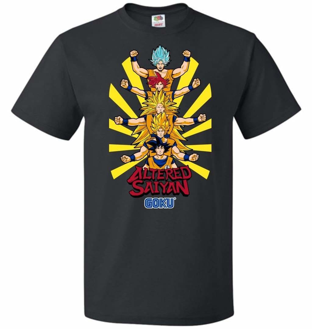 Altered Saiyan Unisex T-Shirt - Black / S - T-Shirt