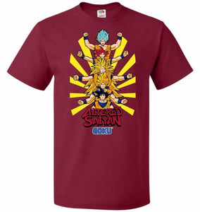 Altered Saiyan Unisex T-Shirt - Cardinal / S - T-Shirt