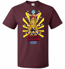 Load image into Gallery viewer, Altered Saiyan Unisex T-Shirt - Maroon / S - T-Shirt