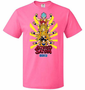 Altered Saiyan Unisex T-Shirt - Neon Pink / S - T-Shirt