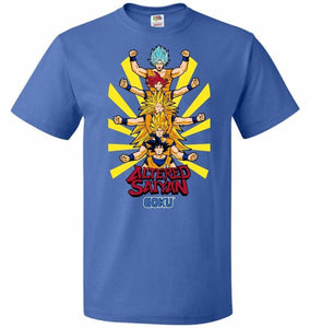 Altered Saiyan Unisex T-Shirt - Royal / S - T-Shirt