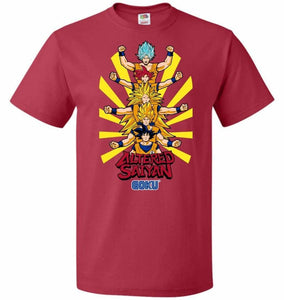 Altered Saiyan Unisex T-Shirt - True Red / S - T-Shirt