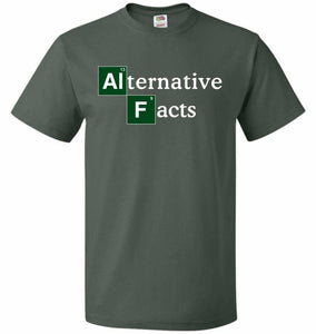 Alternative Chemical Symbol Unisex T-Shirt - Forest Green / S - T-Shirt