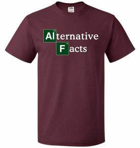 Alternative Chemical Symbol Unisex T-Shirt - Maroon / S - T-Shirt