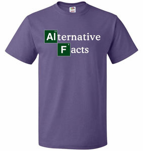 Alternative Chemical Symbol Unisex T-Shirt - Purple / S - T-Shirt